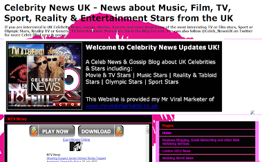 UK Celebrity & Reality Star News & Gossip Website