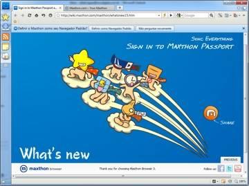 Maxthon: um navegador rápido, gratuito e bem organizado