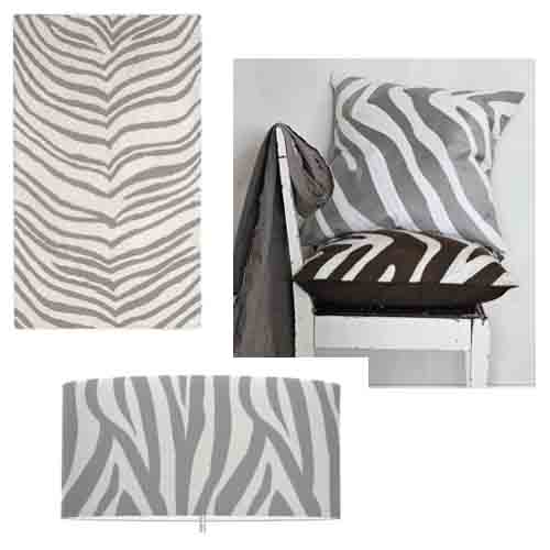 Cardigan Junkie: Dream Decorating: Gray Zebra