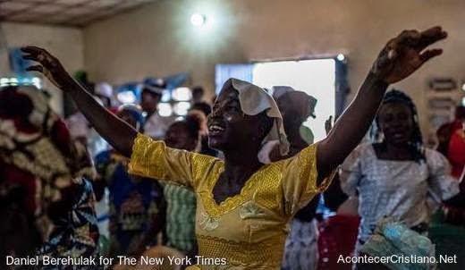 Evangélicos de Liberia agradecen a Dios