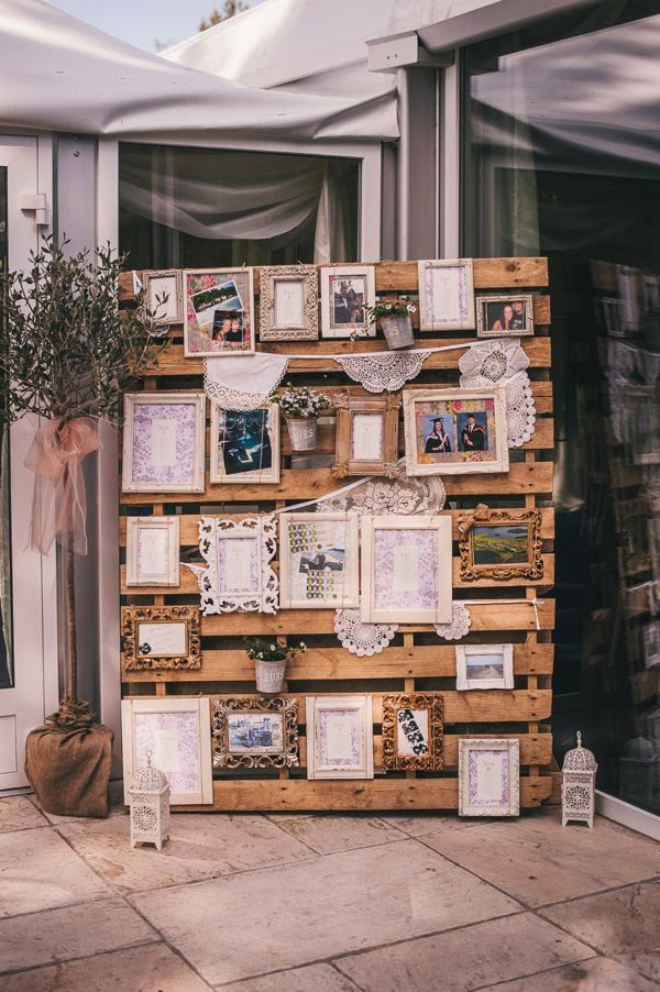 10 ideas para reciclar palets para bodas for Palets decoracion jardin