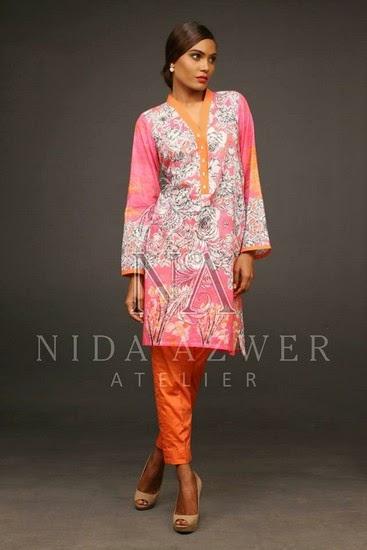 Nida Azwer Eid Collection 2014 Vol-2