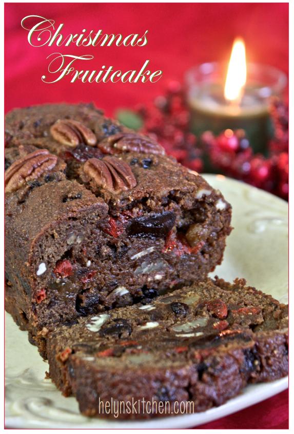 Vegan Christmas Fruitcake