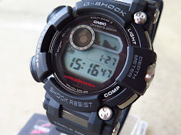 CASIO G-SHOCK FROGMAN GWF-D1000-1 BLACK-TRIPLE SENSOR-WATER DEPTH SENSOR-TOUGH SOLAR-BRAND NEW