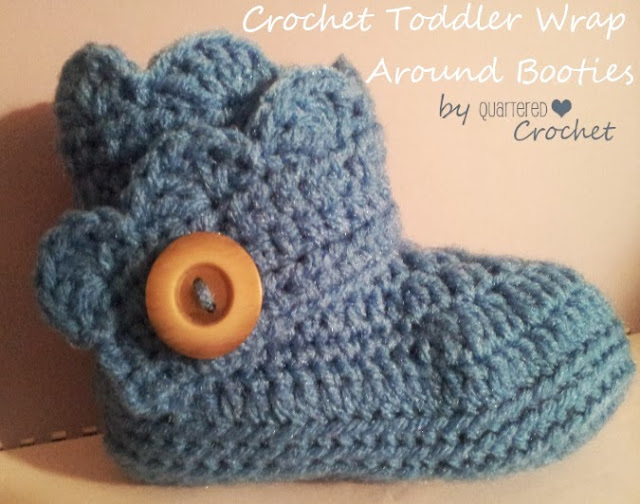Free Crochet Boot Pattern For Toddlers : Crocheting for Christmas? Check Out My Newest FREE Crochet ...
