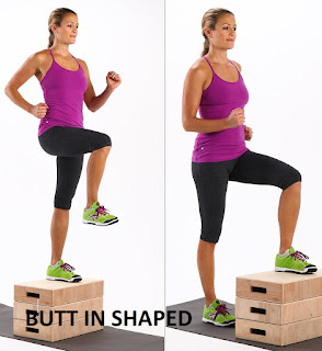 Low Step-Ups, Butt In Shaped
