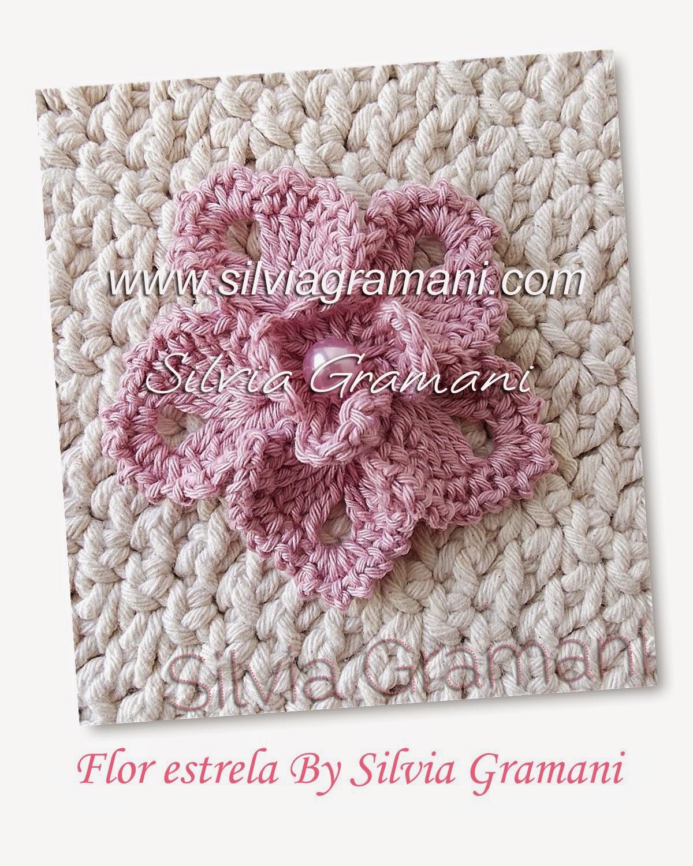 flor de croche e tapetes de croche