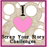 Scrap Your Story Blog Challenges