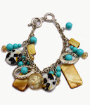 Leopard Shell Bracelet