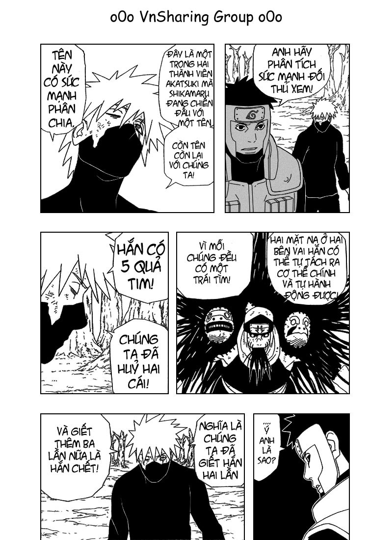 Naruto chap 339 Trang 8 - Mangak.info
