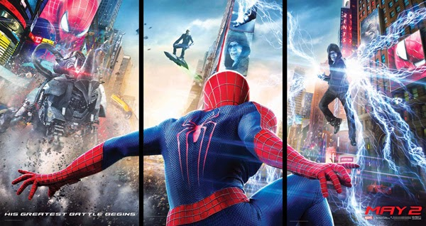 Poster HQ de The Amazing Spider-Man: EL poder de Electro