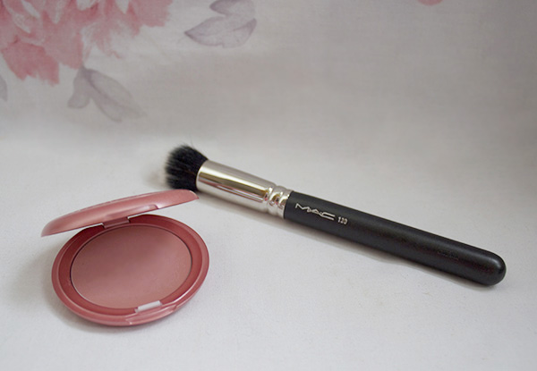 stila blush, mac brush, blush, apply, flush, gh0stparties