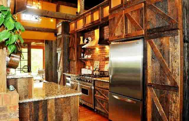 Haus design barn decor is it for you Door design for kitchen