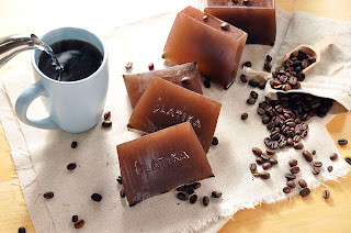 coffee vanilla soap by www.latikasoap.com