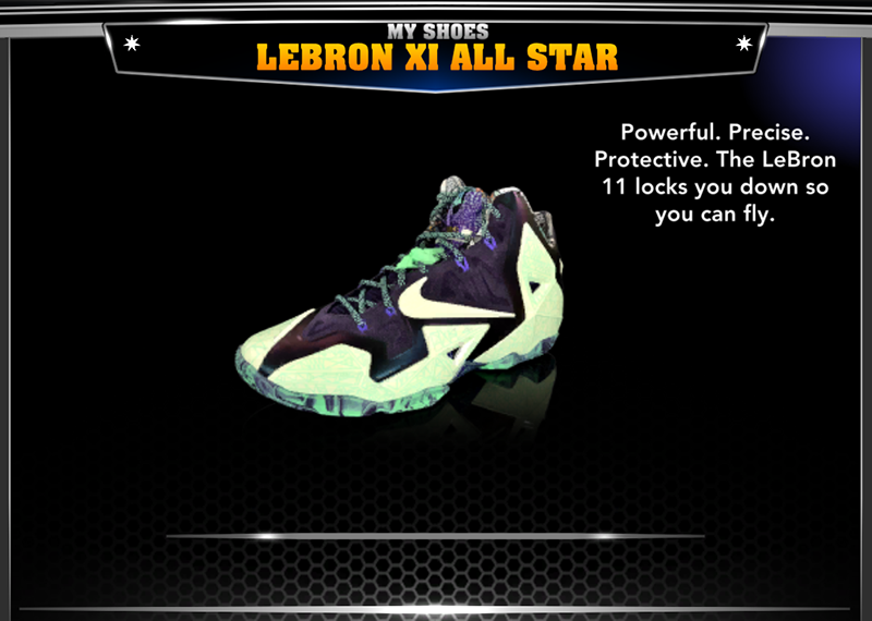 Nike LeBron James 11 All-Star Shoes