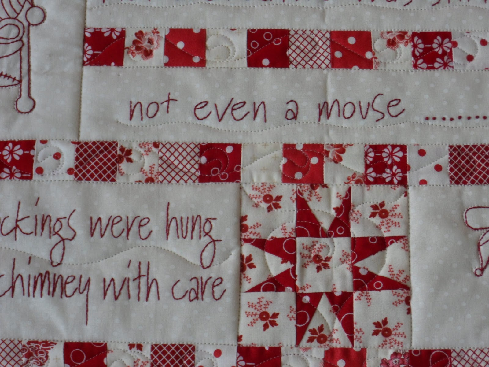 Eucalypt Ridge Quilting Quot T Was The Night Before Christmas