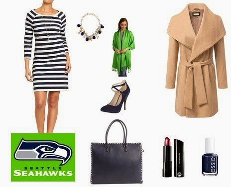 His and Hers NFL Football Fashion, Post Season NFL Dress Outfit