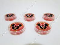 Lembrancinhas Personalizadas Minnie Vermelha - Latinhas / Potinhos