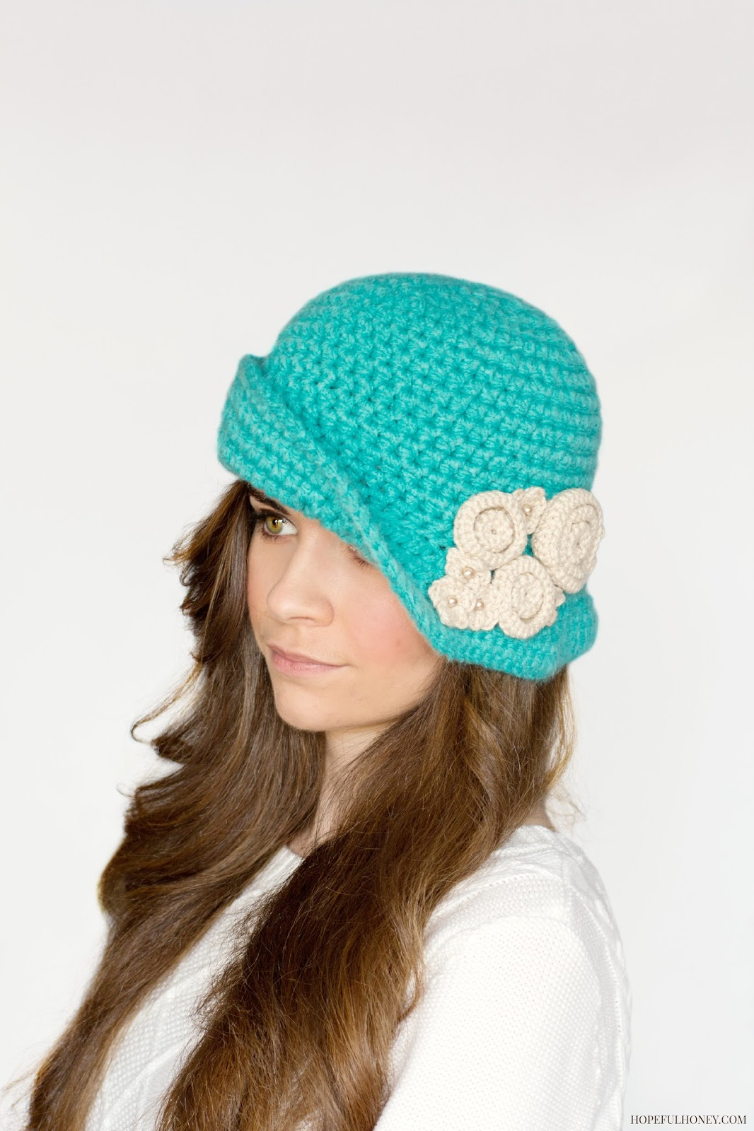 Crochet Hat Pattern Cloche : Hopeful Honey Craft, Crochet, Create: August 2014