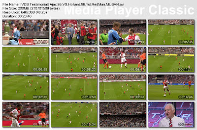 Video Legenda MU, Video Manchester United, Testimonial Edwin Van Der Sar