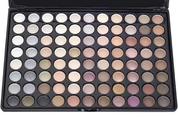 Paleta De Sombras 88 Colores Neutrales Y Calidos No Mac