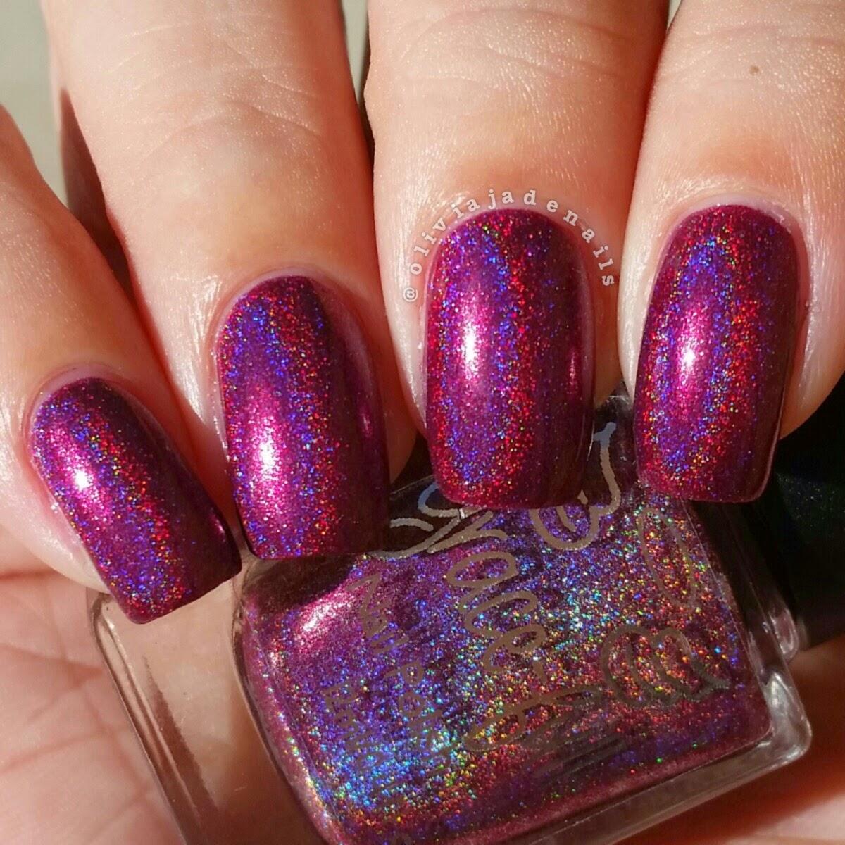 Olivia Jade Nails: Grace-full Nail Polish Vampire Collection ...