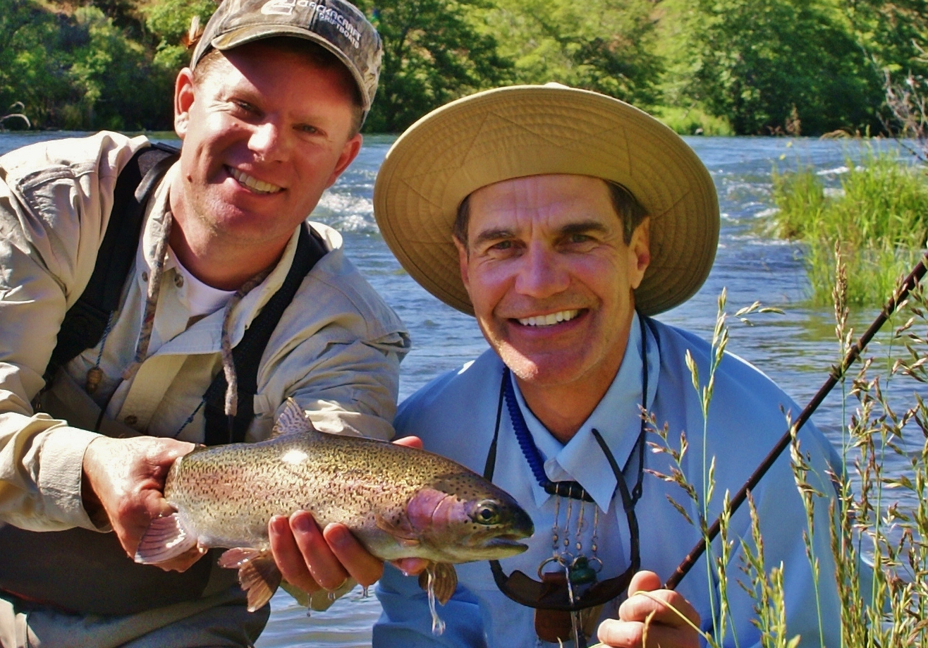 Fly fish oregon water time report water time outfitters for Trout fishing oregon