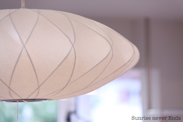 bubble lamp,georges nelson,californie,mid-century,modernica,bensimon,hossegor