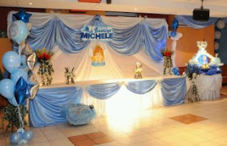 Children Baptisms Decoration