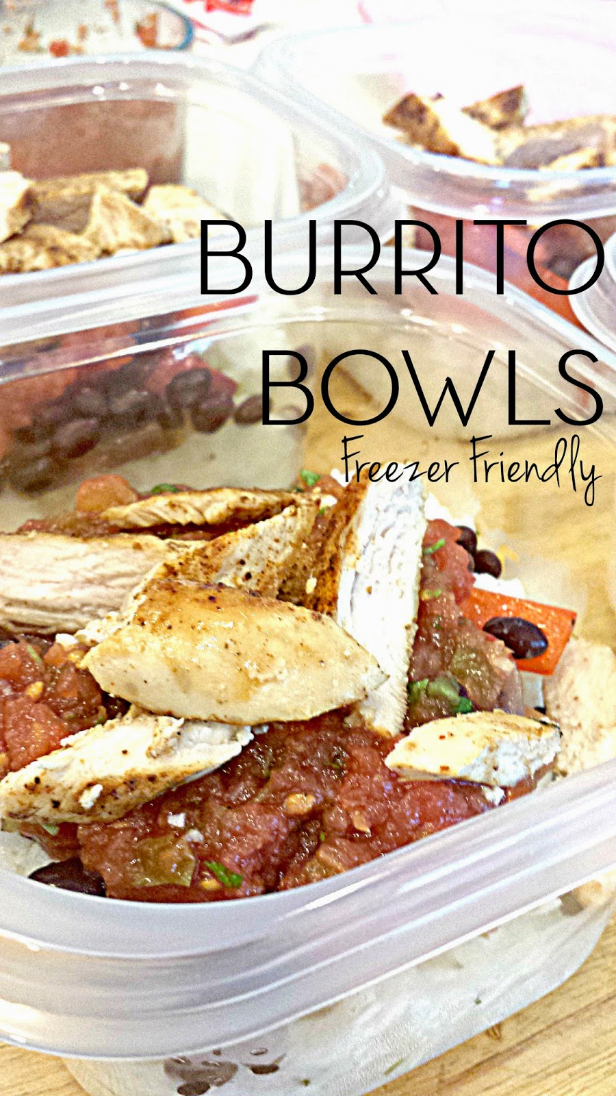 burrito bowl salsa chicken lunch