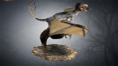 Yi Qi : Dinosaurus Bersayap Nenek Moyang Burung www.guntara.com
