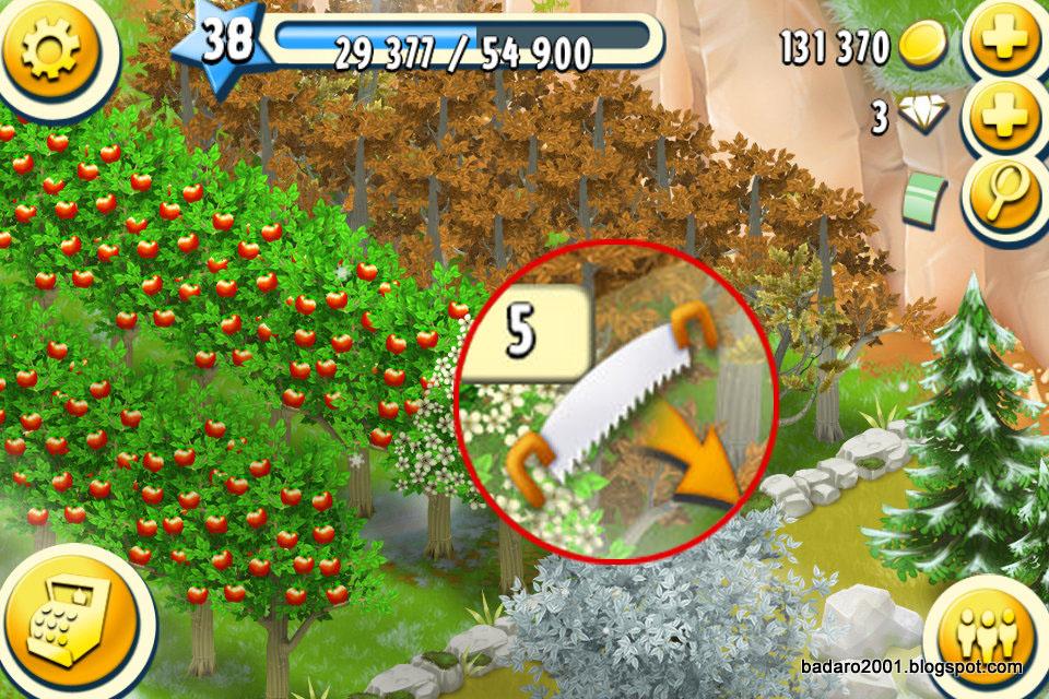 badaro...: HayDay 팔아버리면 손해인 업글 아이템.. 창고 업글, 나무 ...
