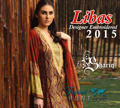Shariq Textile - Libas Designer Embroidered 2015