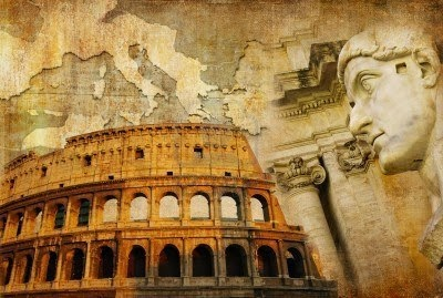 Map Ancient Rome in 3D for Kids