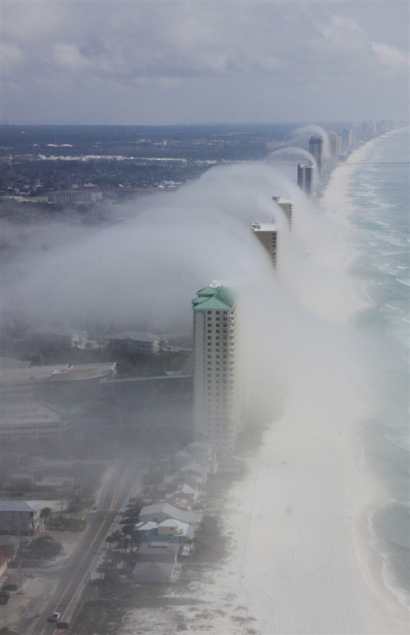 Istaboa's Waypoints: Cloud Tsunami rolls over Panama City Beach