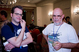 Chris Roberson and Steven Utley, Armadillocon