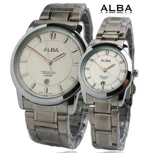 jam tangan couple murah alba