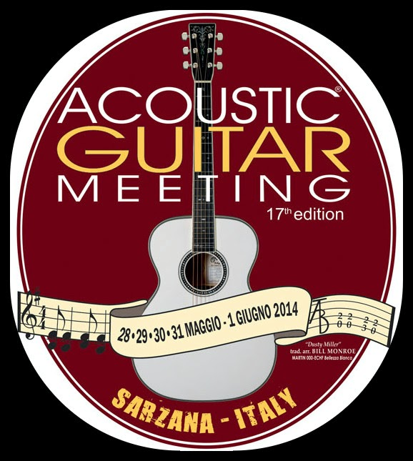 Acoustig guitar Meeting Sarzana logo