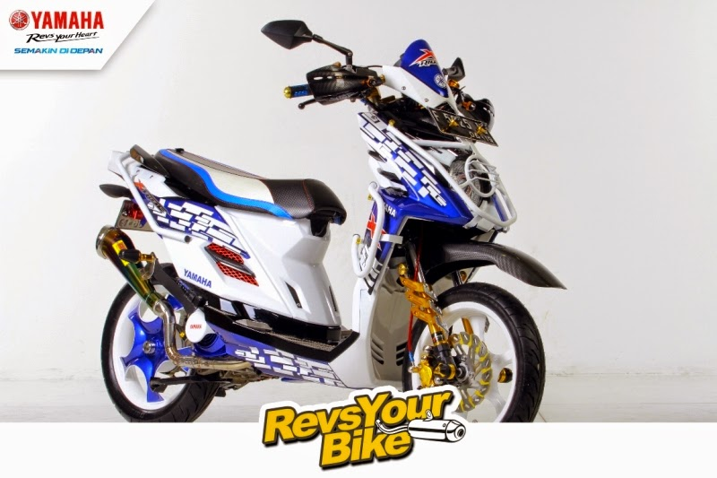 modifikasi X-Ride 2014