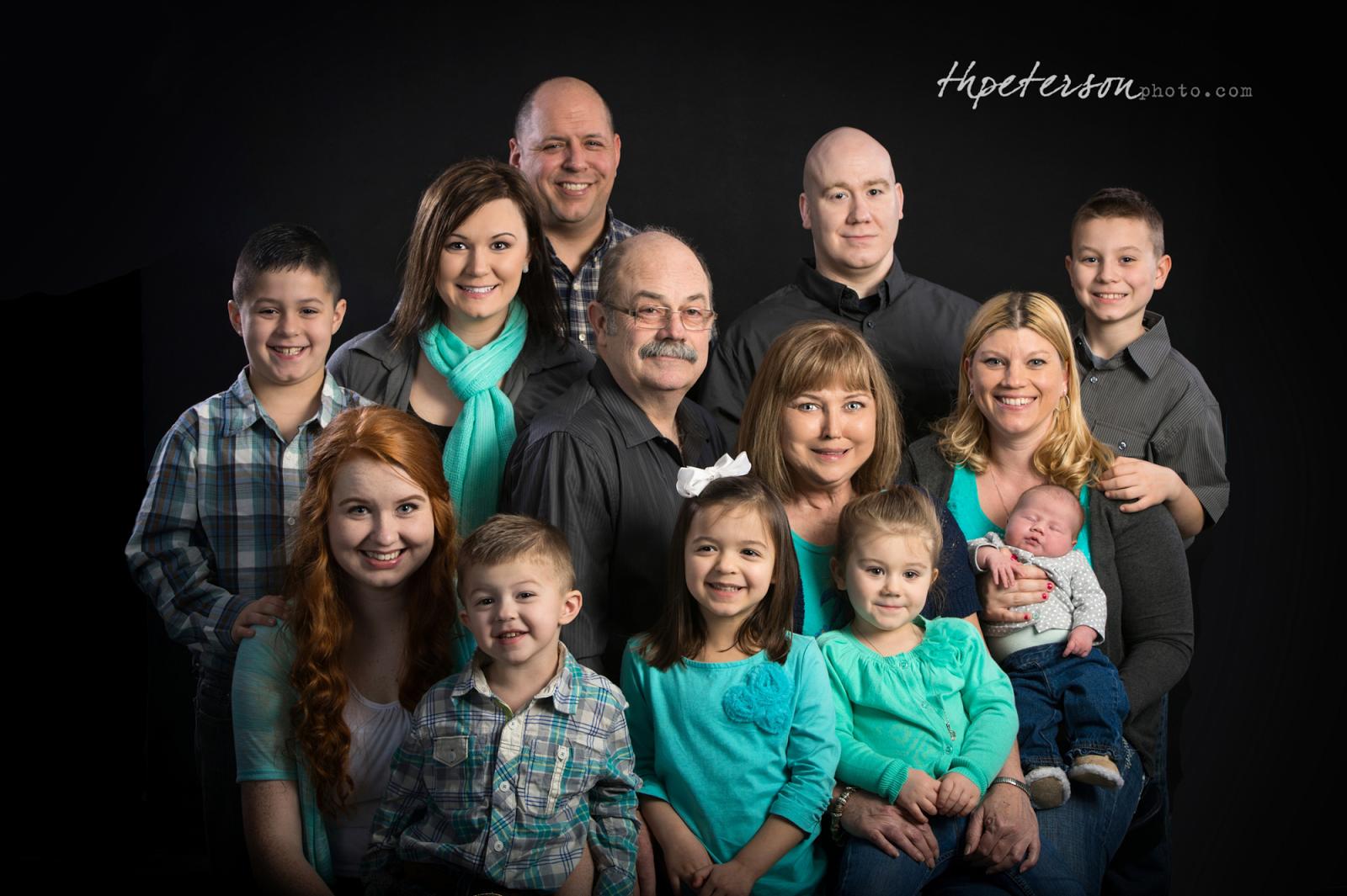 Family Graduation Photo Studio Portrait Makeover Glamour Family portrait photography price list