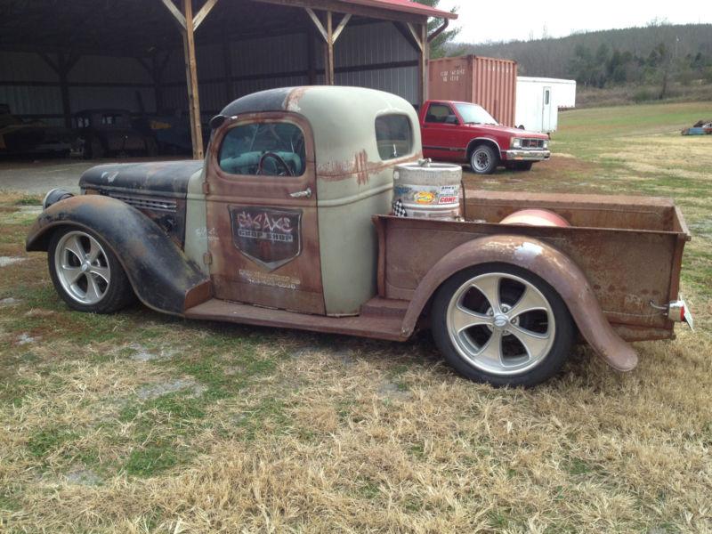 Custom Rat Rod Trucks