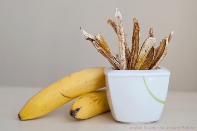 Bananowe paluszki curry
