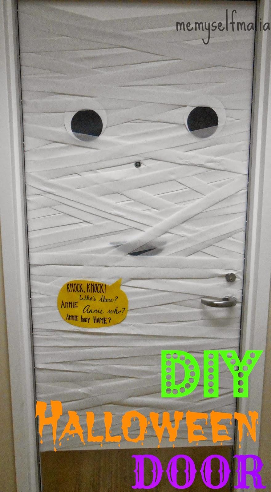 Mummy Door DIY! & Me Myself Malia: Mummy Door DIY!