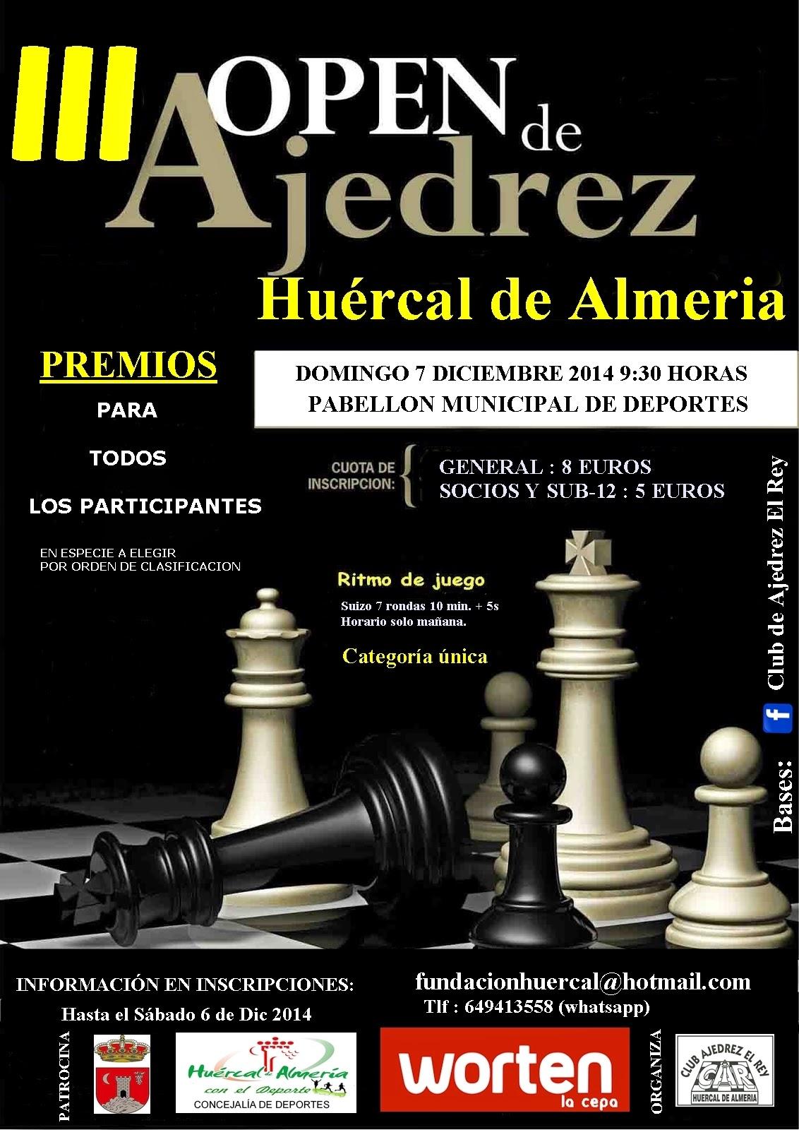 TORNEO NAVIDAD DE HUÉRCAL DE ALMERIA