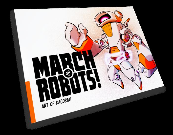 https://www.kickstarter.com/projects/chocolatesoop/march-of-robots-art-book-project
