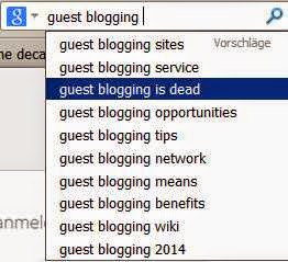Guest blogging tip