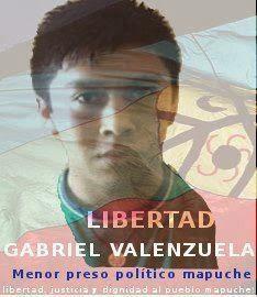 Freedom for Gabriel Valenzuela poster