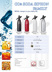Soda Siphon (sifon -> apa imbunatatita cu CO2)