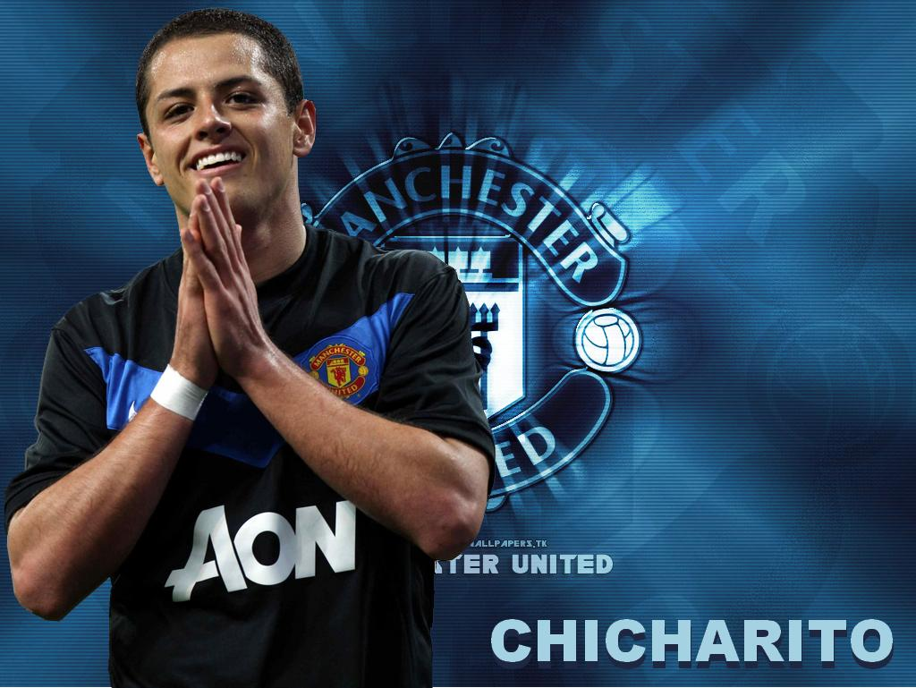 "Wallpaper Free Picture: Javier ""Chicharito"" Hernandez Wallpaper 2011"