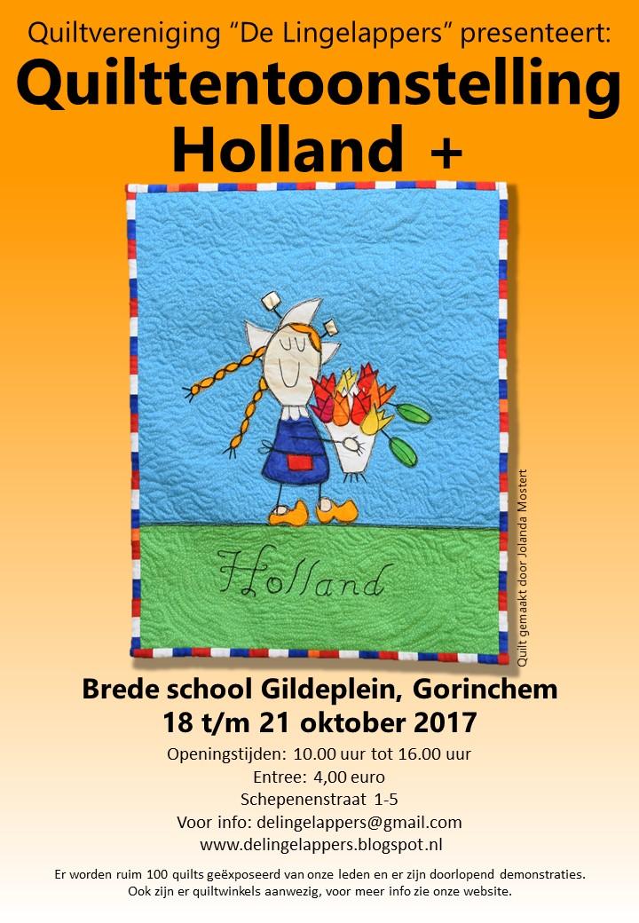 Quilttentoonstelling Holland Plus